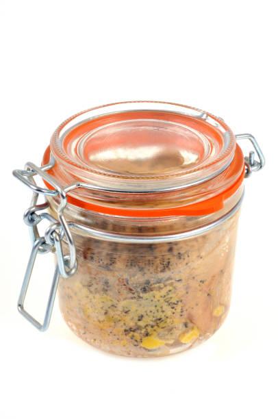 bocal de foie gras - foie gras photos et images de collection