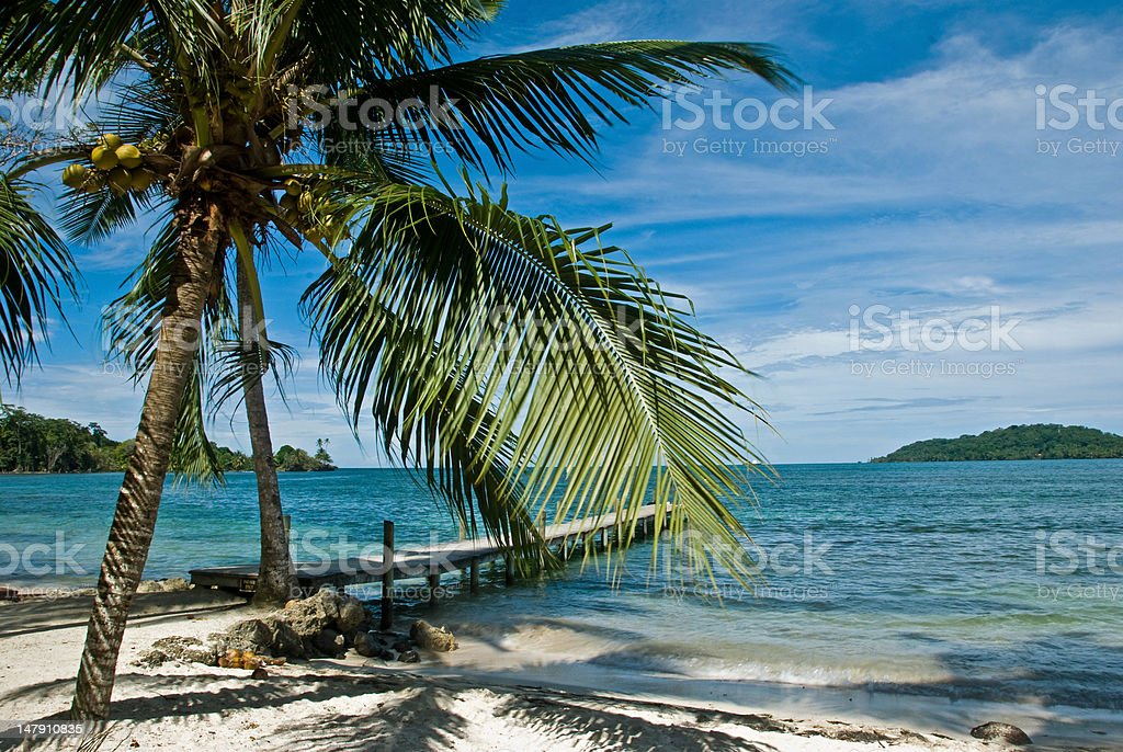 Bocas del Toro royalty-free stock photo