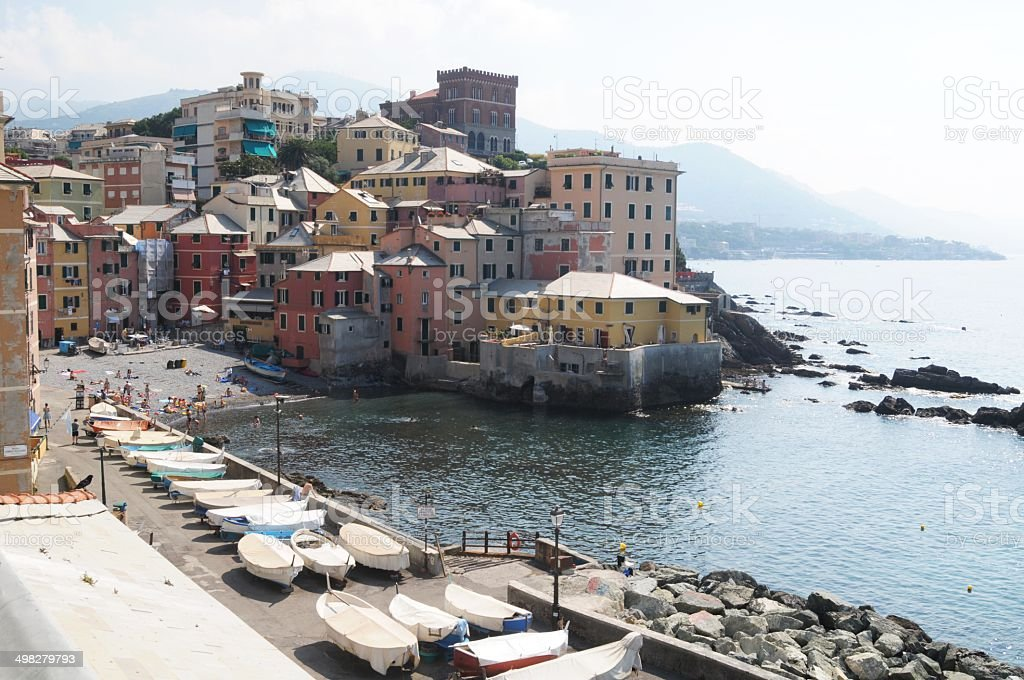 boccadasse stock photo