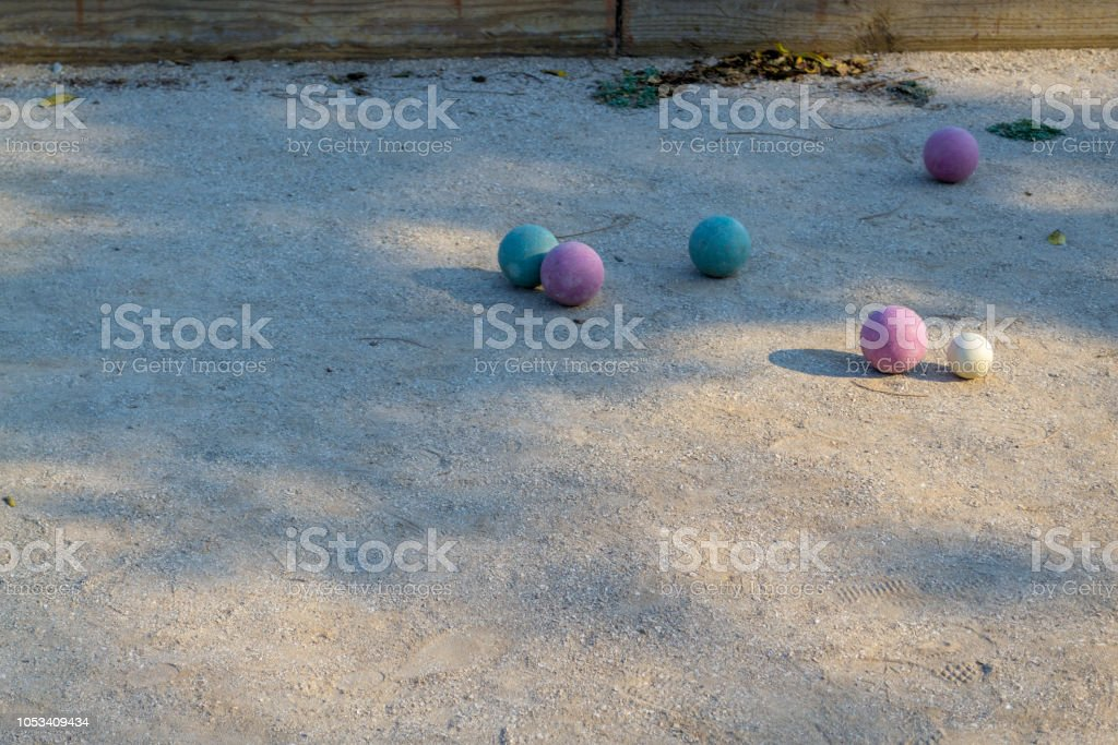 Bocce is a game of Italian origin played in Europe and the New World