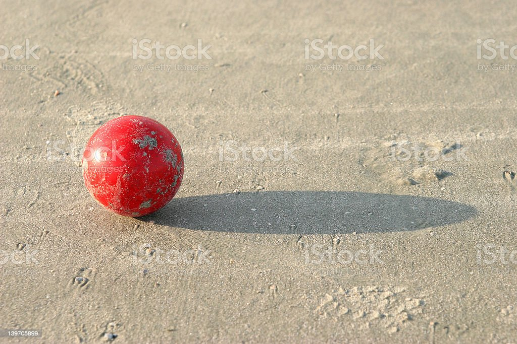 Boccie ball royalty-free stock photo