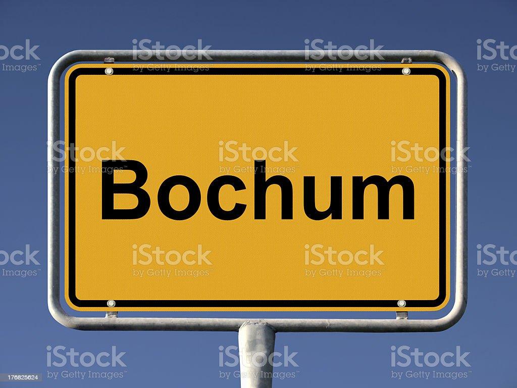 Bochum royalty-free stock photo