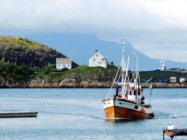 Bodø-Norwegen-Fischerboot – Foto