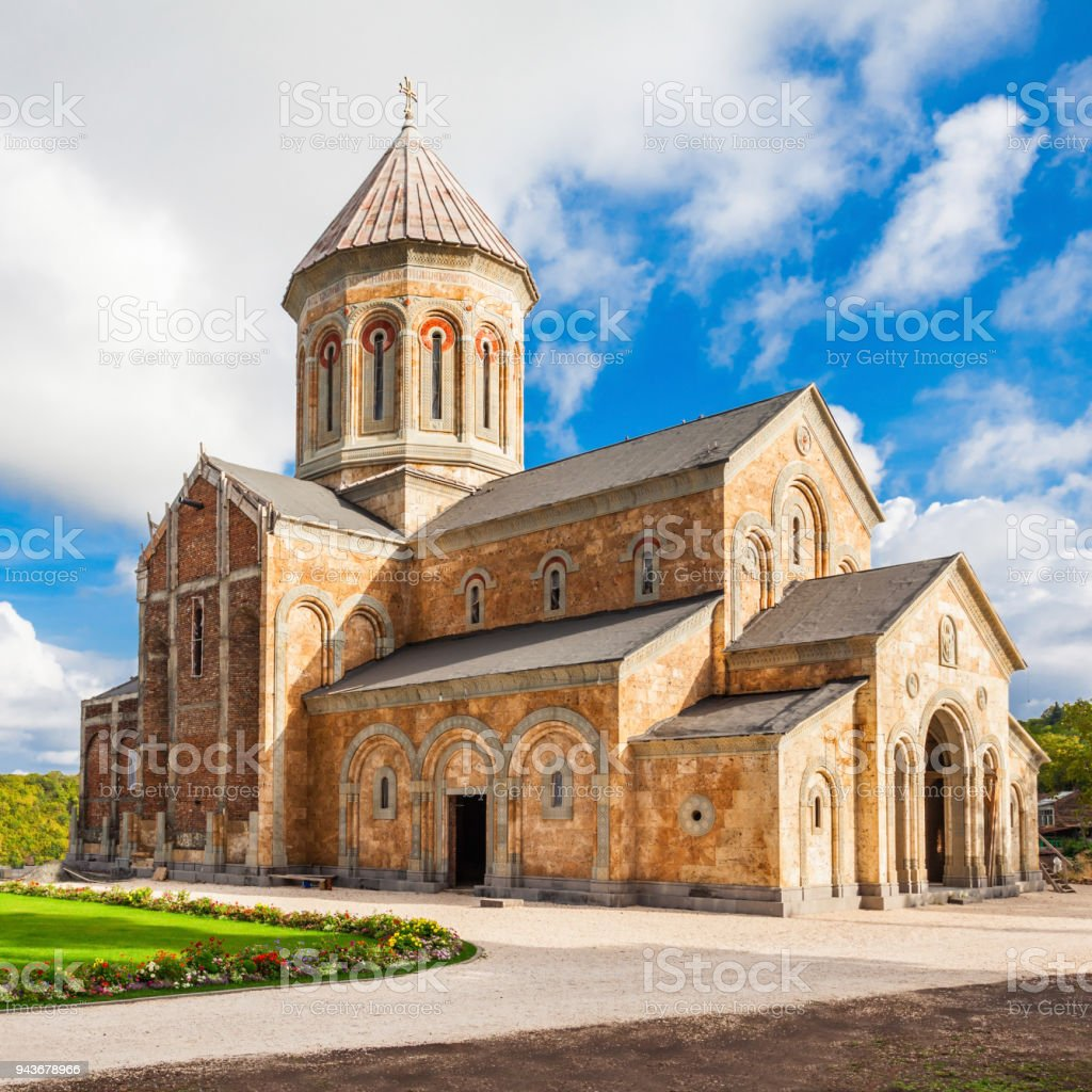 Bodbe Monastery, Sighnaghi stock photo