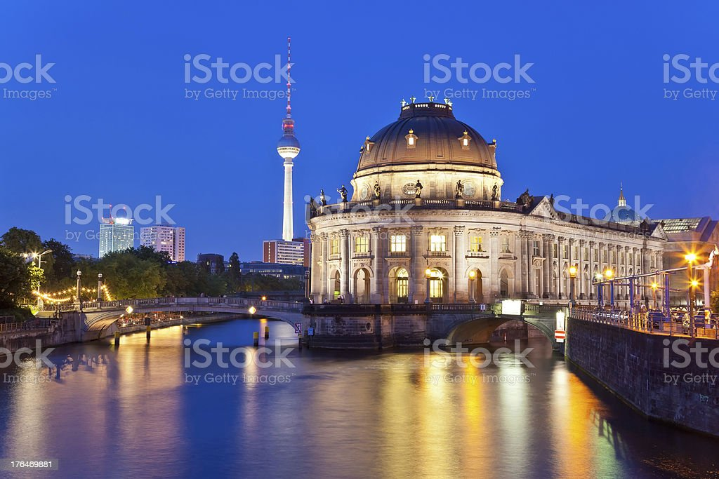 Bode Museum at Berlin, Germany stock photo