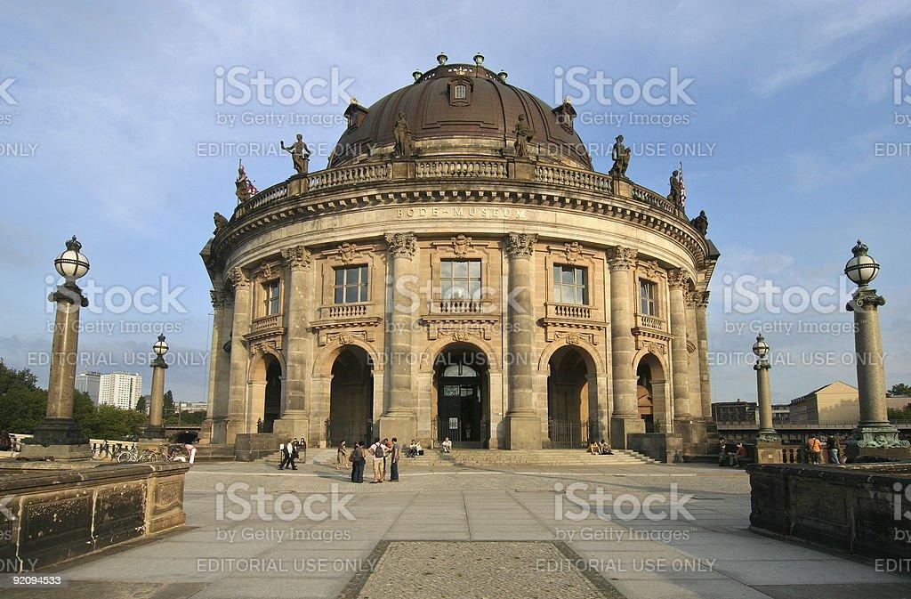 Bode Museum Berlin stock photo