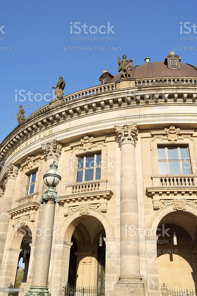 Bode Museum in Berlin, Germany royalty-free stock photo