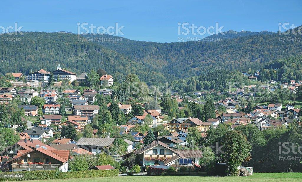 Bodenmais,Bavarian Forest,Bavaria,Germany stock photo
