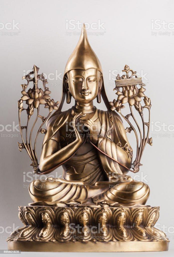 Bodhisattva Avalokiteshvara a made of bronze. stock photo
