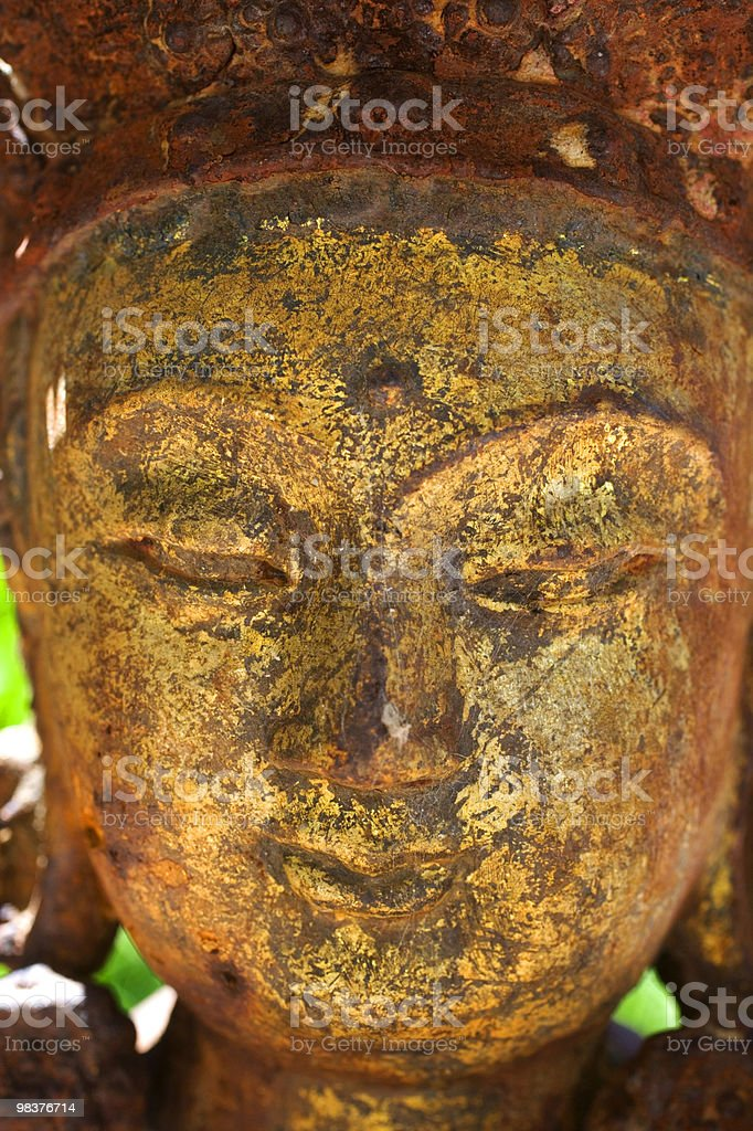 Bodhisattva head royalty-free stock photo