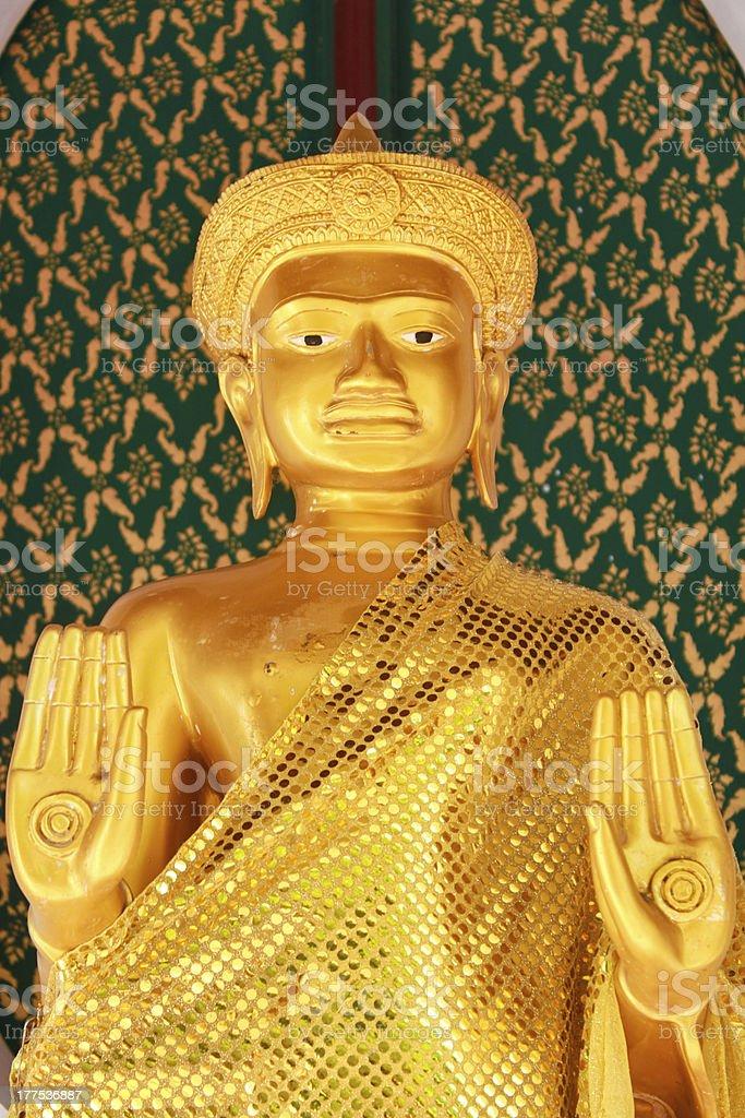 Bodhisattva statue in Thailand royalty-free stock photo