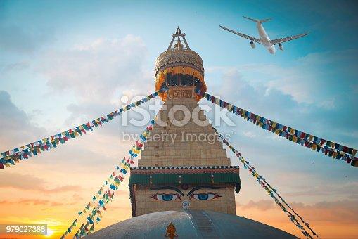 istock Bodhnath stupa 979027368