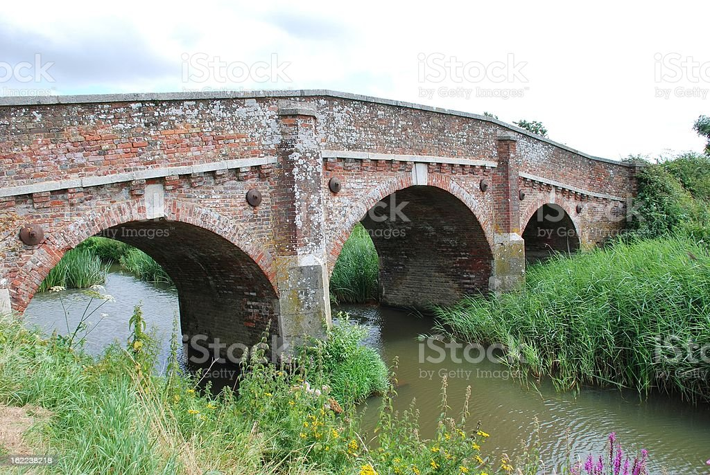 Bodiam bridge, England royalty-free stock photo