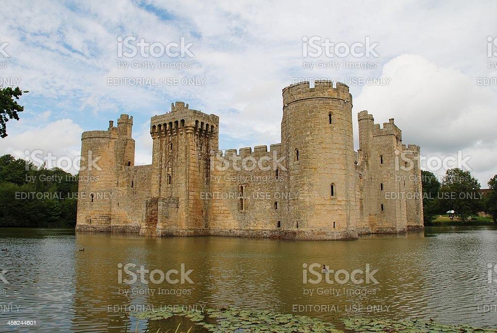 Bodiam Castle, England stock photo