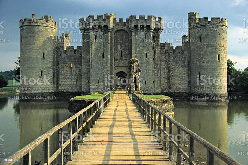 Bodiam Castle - England stock photo