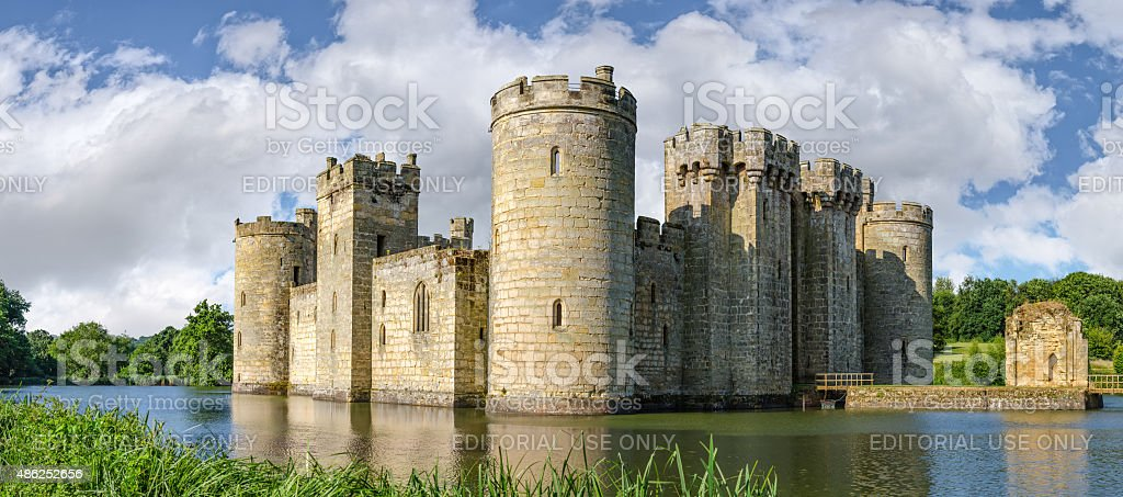 Bodiam Castle In England Royalty Free Stock Photo