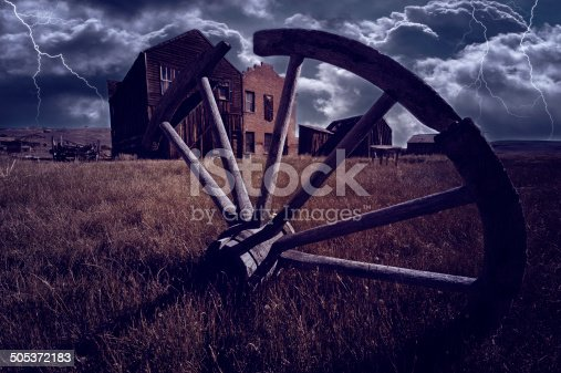 istock Bodie California Ghost Town 505372183