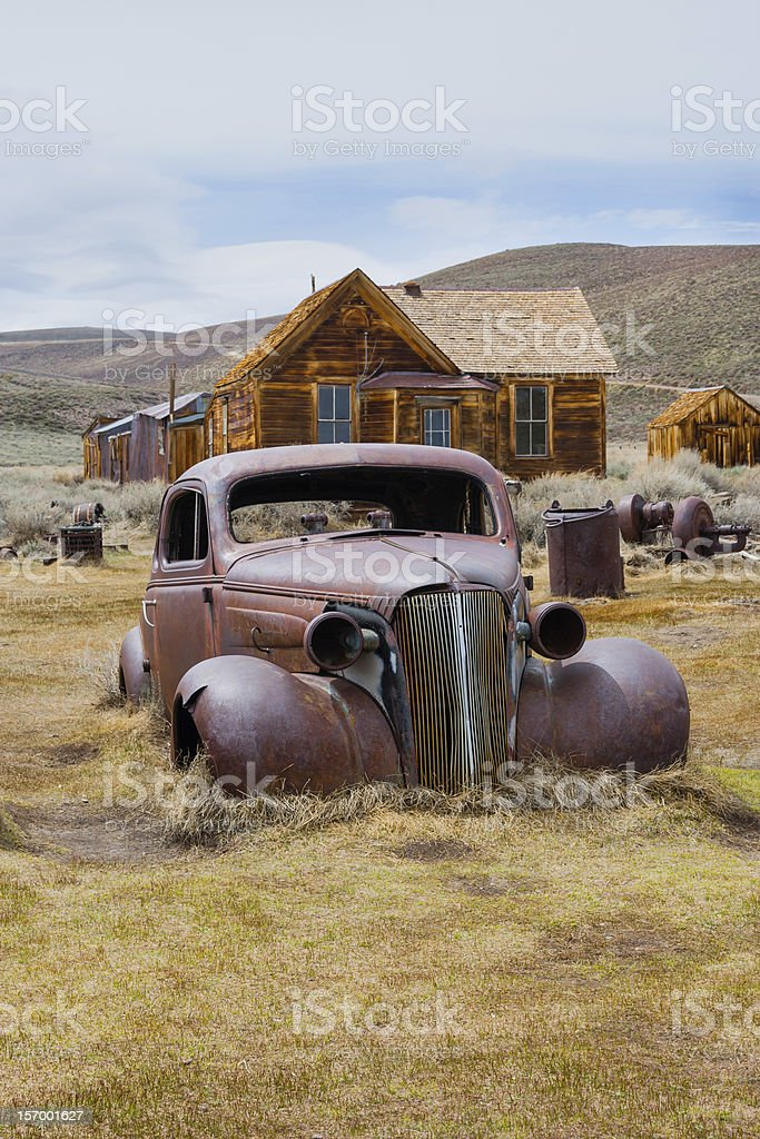Bodie (ghost town), California stock photo