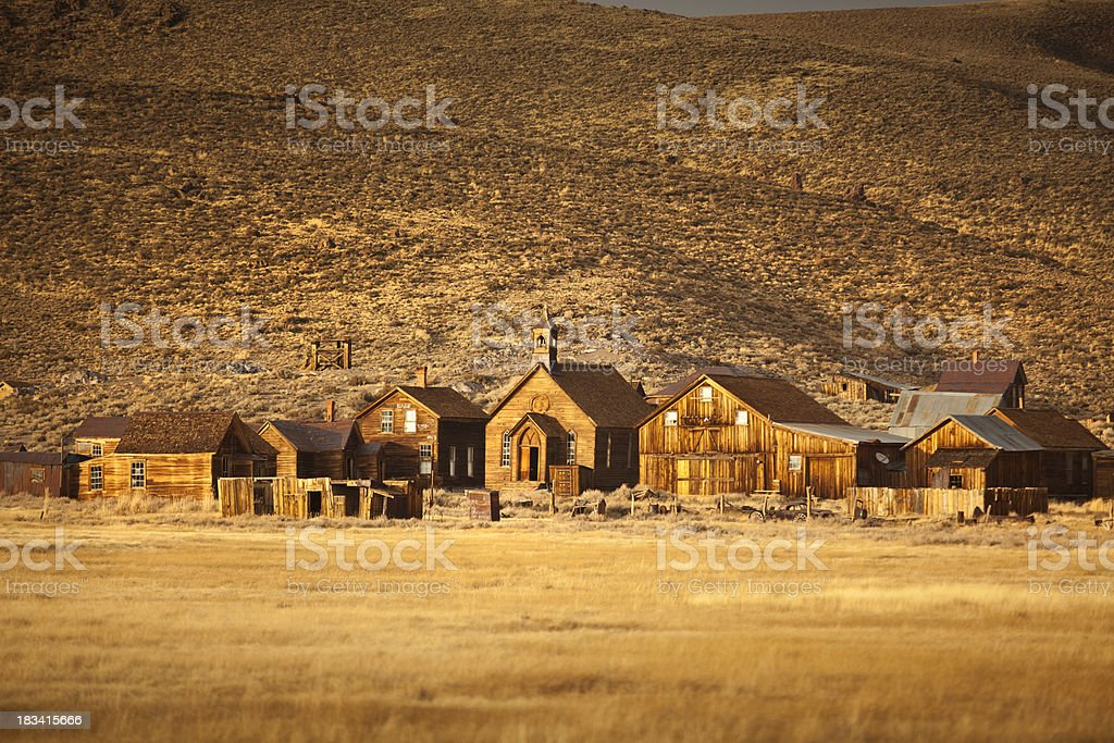 Bodie, Californian wild west, Gold Rush ghost town stock photo