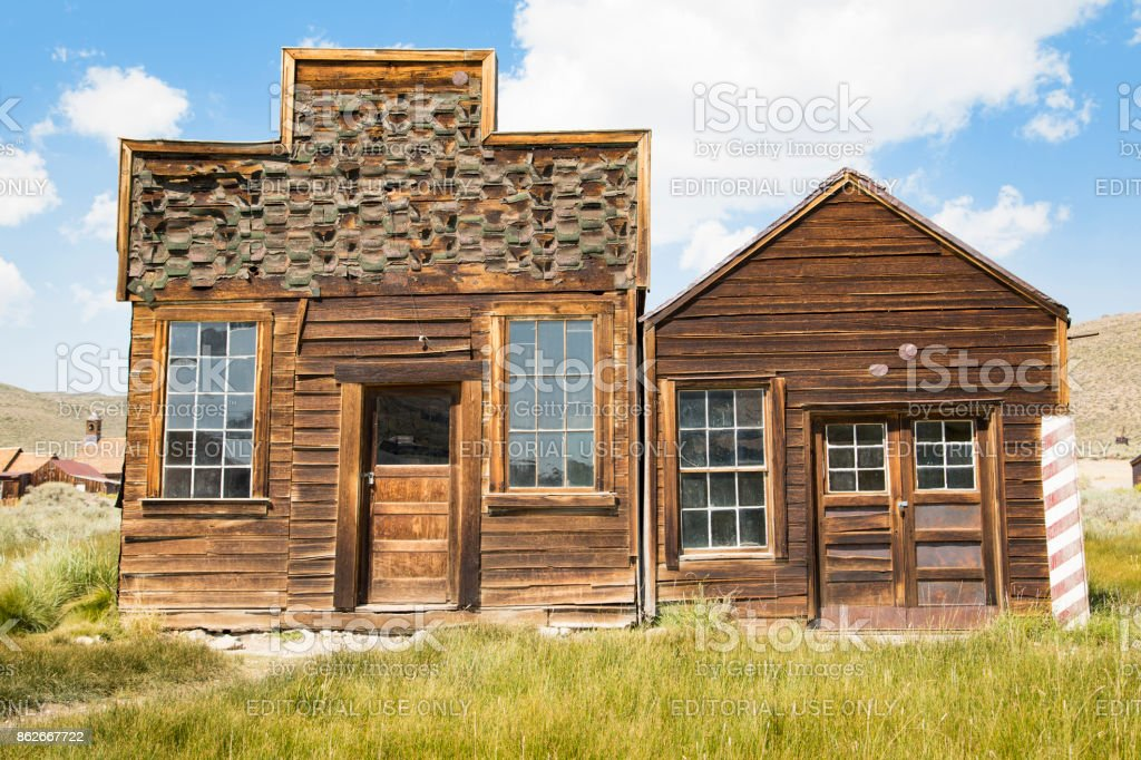 Bodie Ghost Town, California stock photo