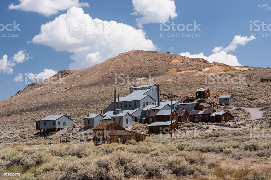 Bodie ghost town, California, USA stock photo