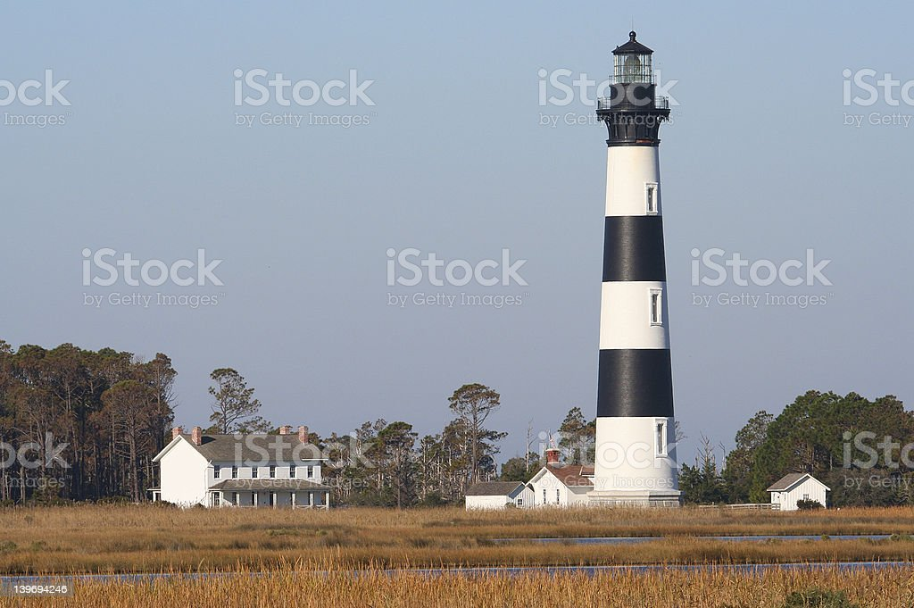 Bodie Lighthouse stock photo