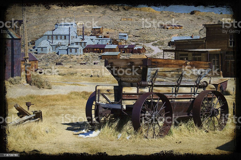 bodie national state park, ca, usa stock photo