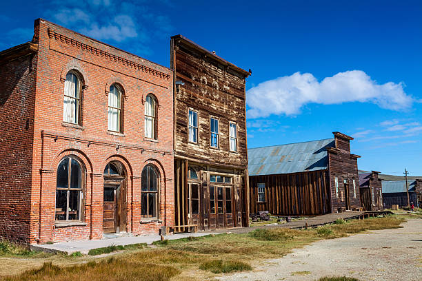 bodie - western town stock photos and pictures