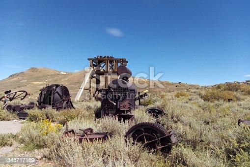 istock Bodie State Historic Park, Bridgeport, CA, USA. 1345717189