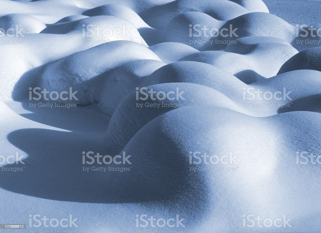 Bodies of snow royalty-free stock photo