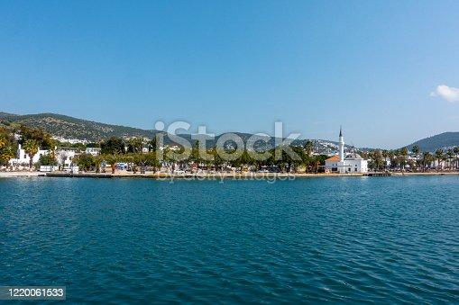 Bodrum harbor during Corona days