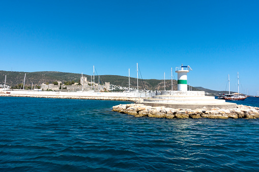 Bodrum harbor lighthouse