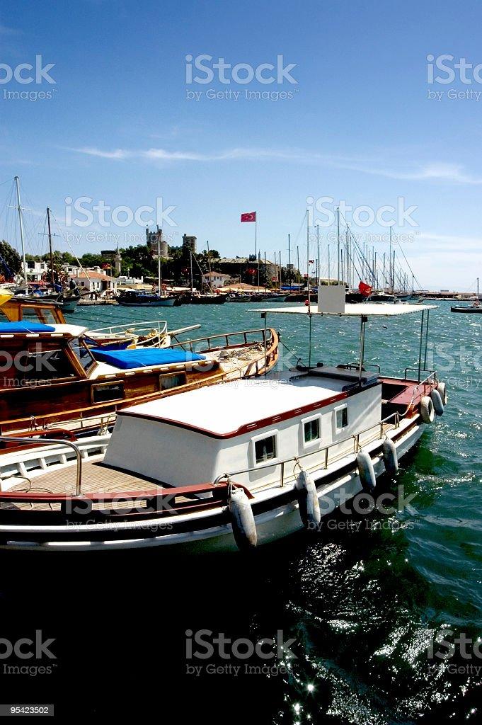 Hafen von Bodrum Lizenzfreies stock-foto