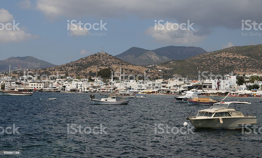 Bodrum Town In Mugla City Turkey Royalty Free Stock Photo