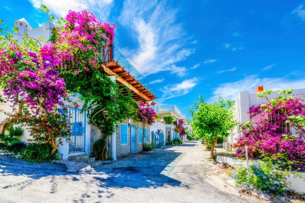 Bodrum Town in Turkey stock photo