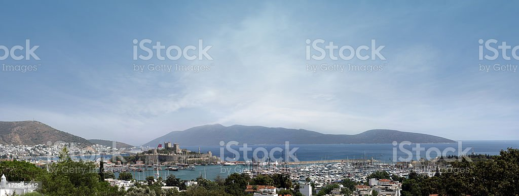 Bodrum (Halicarnassus), Turkey royalty-free stock photo