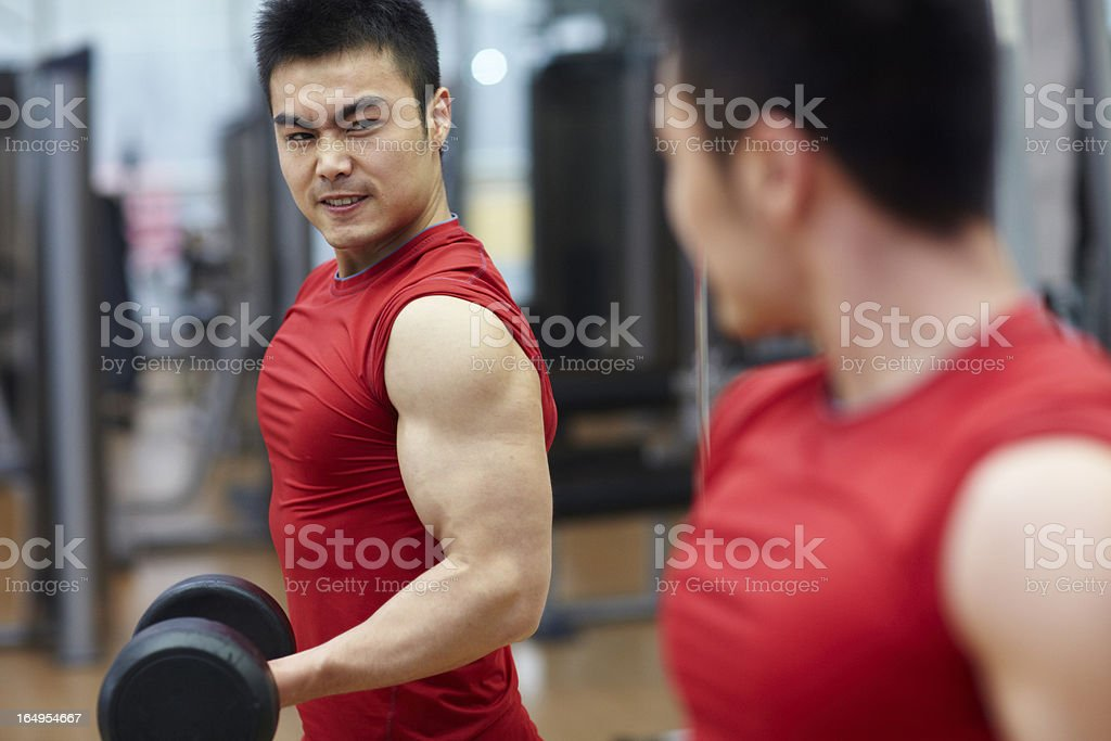 body build stock photo