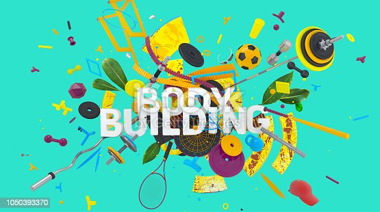 istock Body Building concept 1050393370