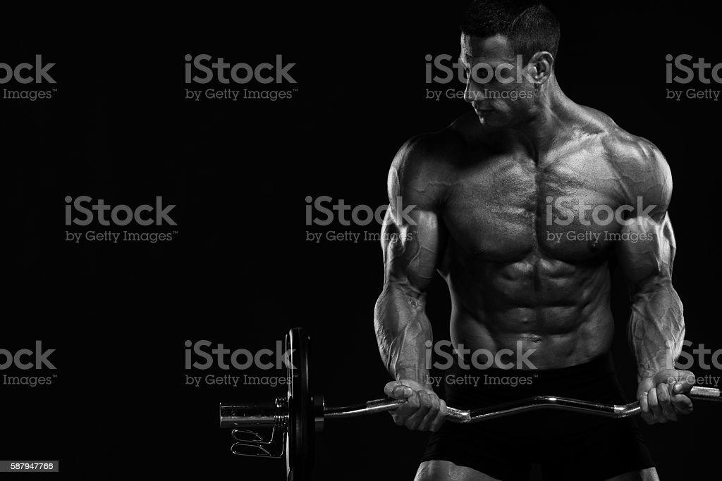 Body Building stock photo