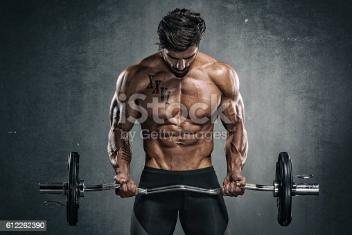 istock Body Building Workout 612262390
