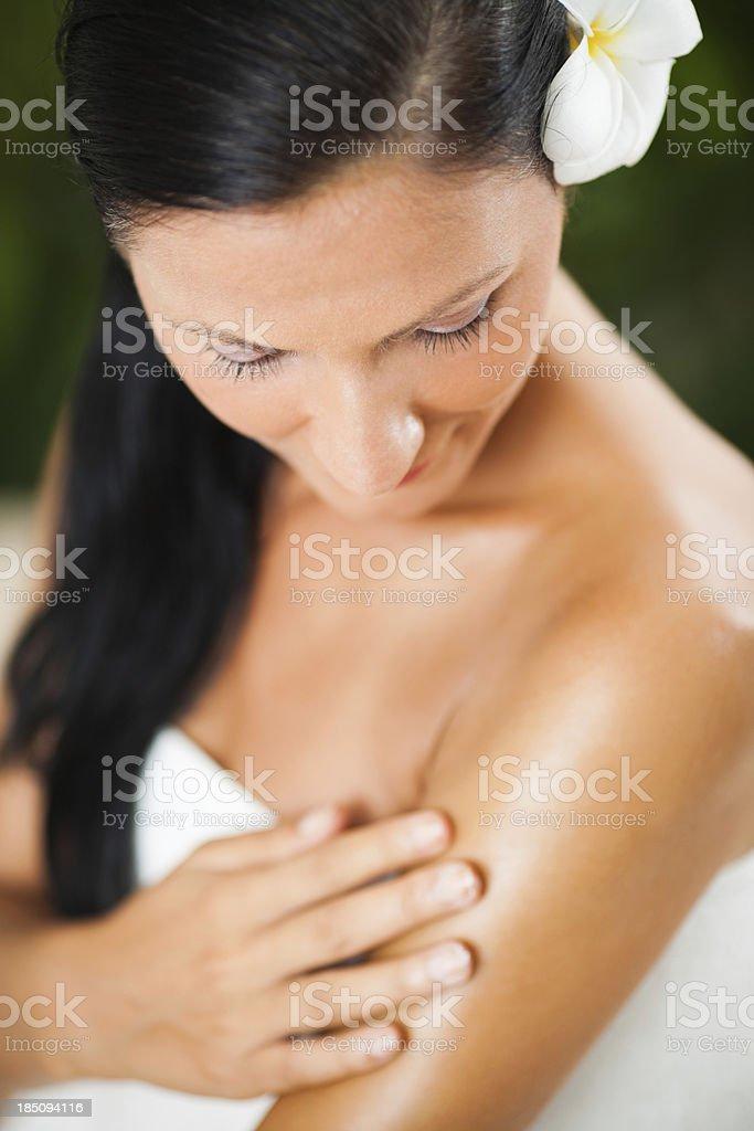 Body care stock photo