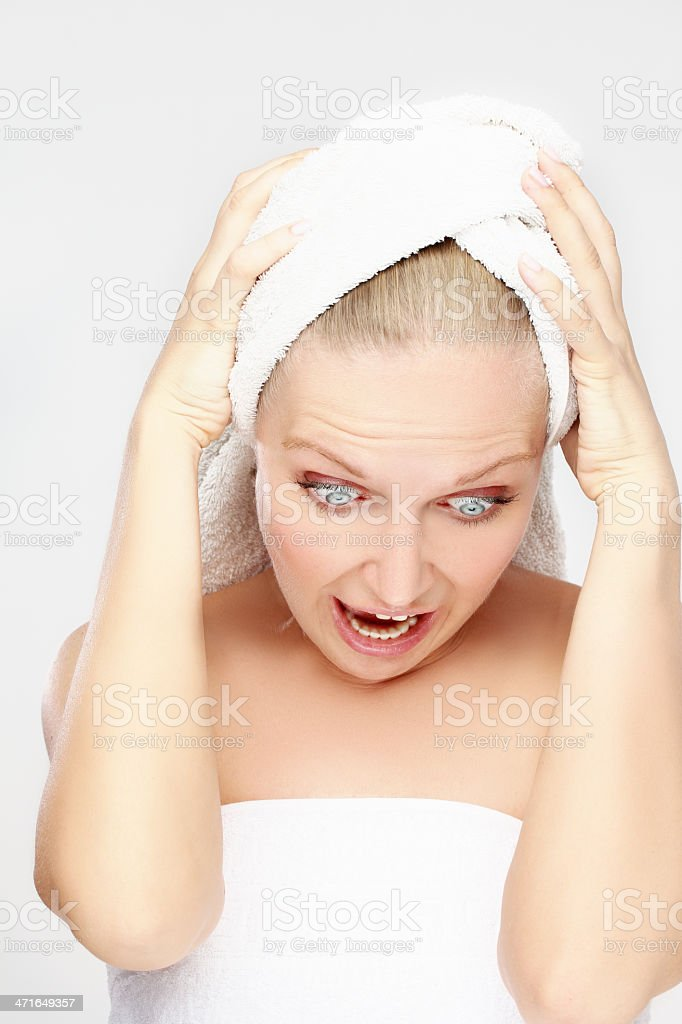 Body care stress royalty-free stock photo