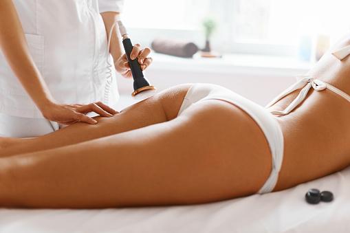 istock Body Care. Ultrasound Cavitation Body Contouring Treatment. Anti-Cellulite 492676912