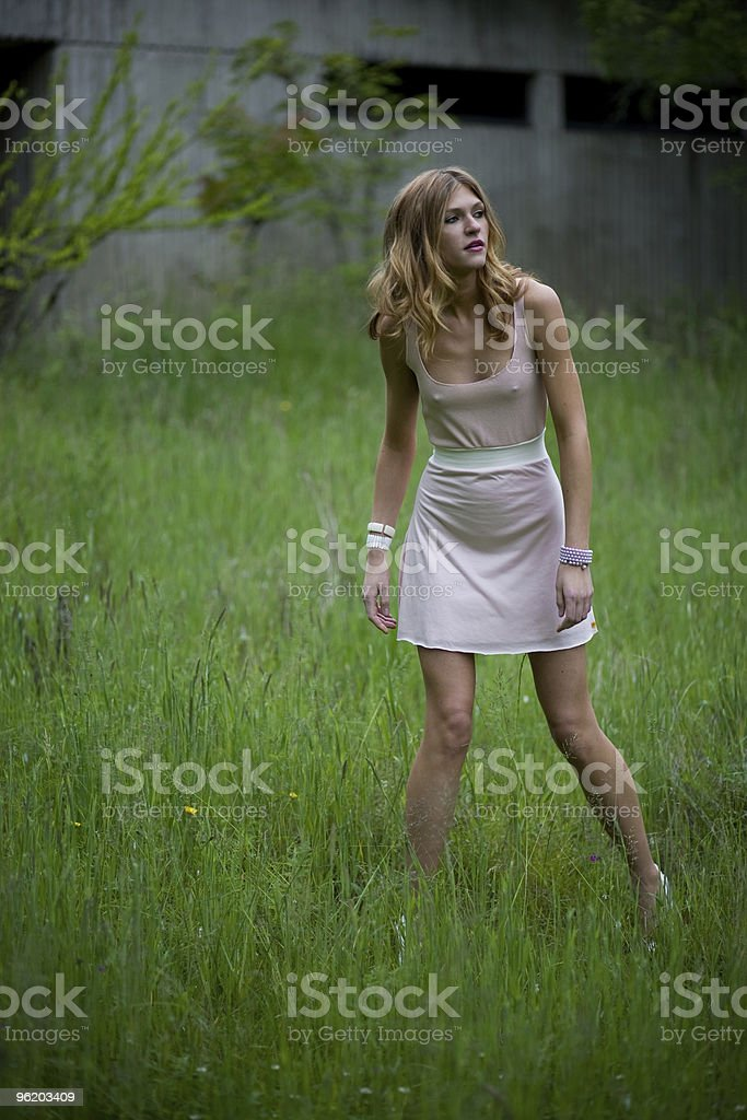 Body Conscious royalty-free stock photo