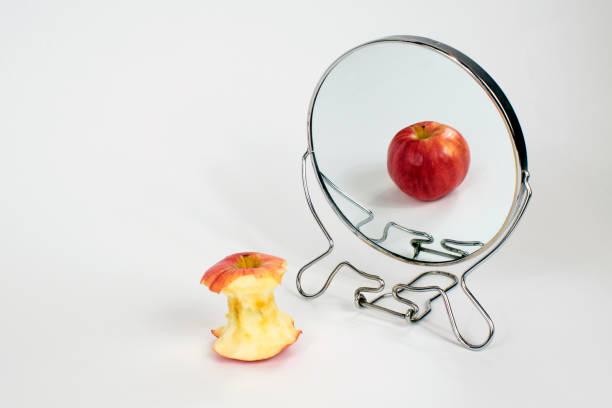 Body Dysmorphia, Anorexia, Bulimia stock photo