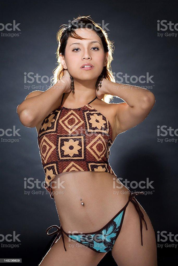 body figure of a beatiful woman stock photo