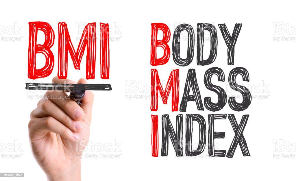 BMI - Body Mass Index stock photo