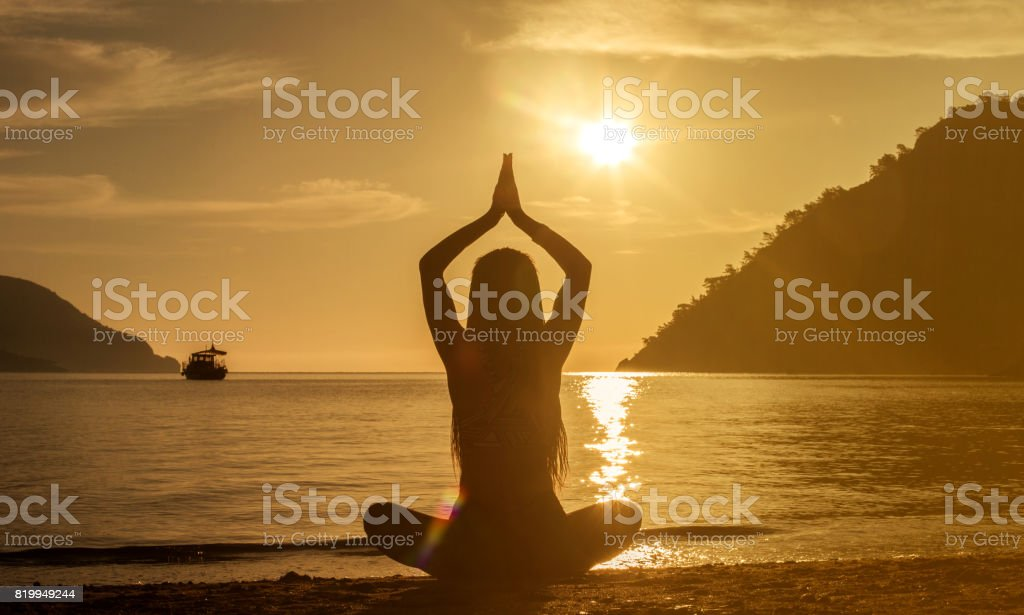 Body, mind and spirit stock photo