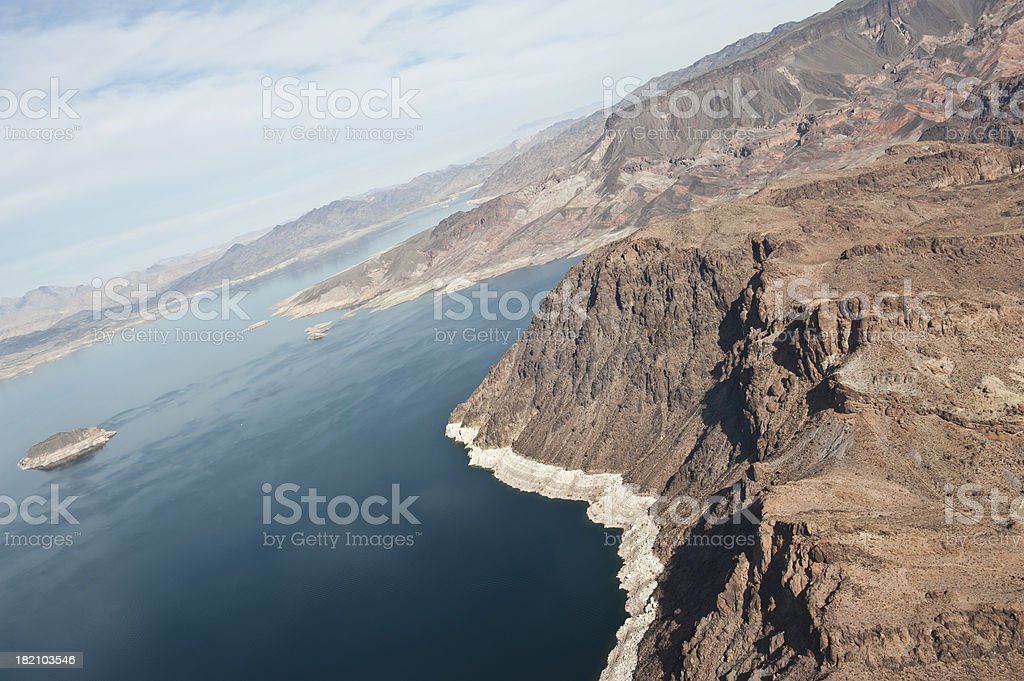 Body of Water In Nevada royalty-free stock photo
