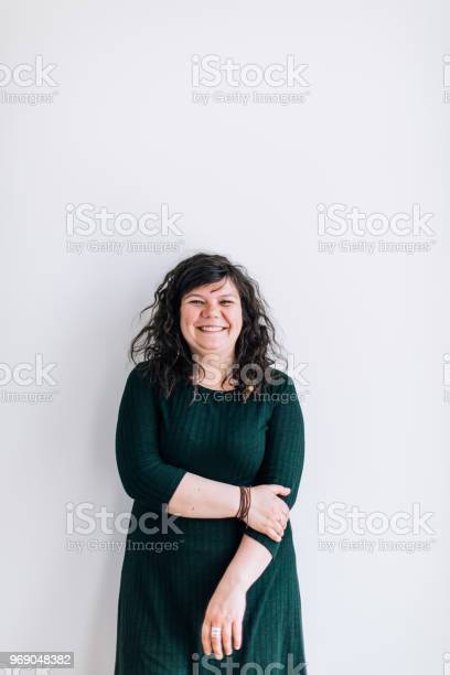 Body positive young female standing smiling and looking at camera picture id969048382?b=1&k=6&m=969048382&s=612x612&h=dyf bkzoeinvthkglkiawk8 s39gst rwhryqc8tubw=